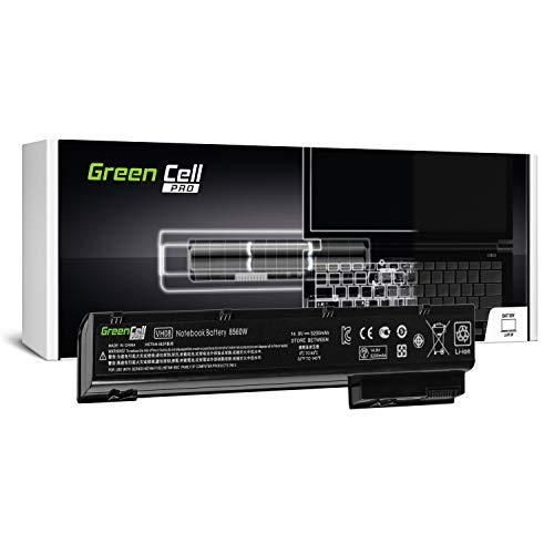 Green Cell® PRO Serie VH08 VH08XL Batteria per Portatile HP EliteBook 8560w 8570W 8760w 8770w (Le Pile Originali Samsung SDI, 8 Pile, 5200mAh, Nero)