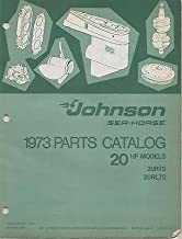 1973 JOHNSON SEA-HORSE OUTBOARD 20 HP P/N 386133 PARTS MANUAL (528)