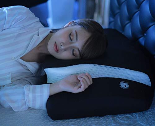 moonmoon横向き寝専用枕横向き寝ムーンムーンYOKONE3まくらマクラ快眠グッズ安眠快眠枕ヨコネ(白)