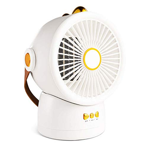 FOLVXY Calentador De Espacio, Ajuste De Múltiples Ángulos, Control Inteligente De Temperatura, Apagado Temporizado, Calefacción PTC, Dormitorio De Oficina Y Hogar