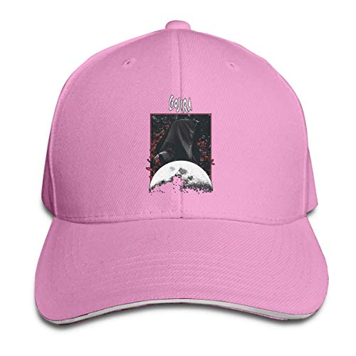 Hombres Mujeres Pato Lengua Gorra Ajustable Gojira Grim Moon Trucker Hat Unisex