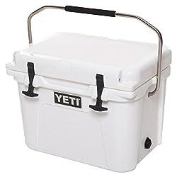 small YETI Roadie 20 Cooler, White