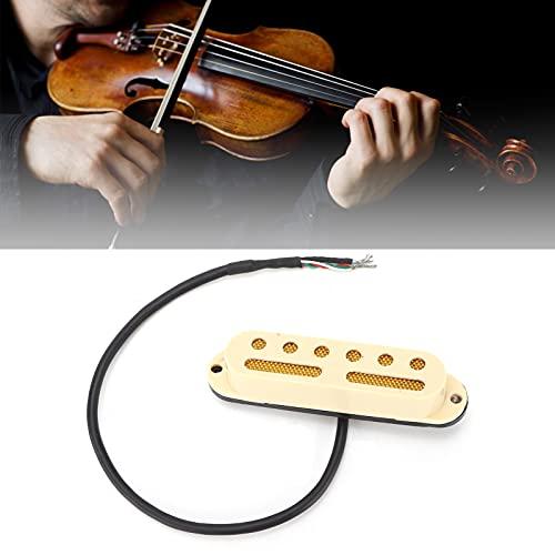 Eujgoov Pastilla de Guitarra Pastillas de Bobina Simple Pastilla de Guitarra de Cable de 4 Núcleos para Guitarra Eléctrica TL/Stratocaster