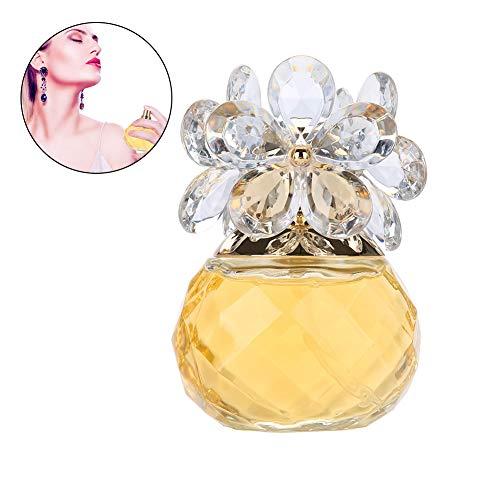 Eau de Parfum para mujer, 60 ml Perfume de fragancia de madera de dama de larga duración(Yellow Gold)