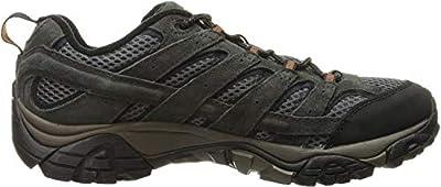 Merrell Men's Moab 2 Vent Hiking Shoe, Beluga, 9 M US