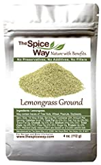 LEMONGRASS POWDER - a flavorful herb used for cooking and tea, with a strong lemon flavor with a deep mint tone. It is also used to make Lemongrass paste and as an important ingredient of many eastern seasonings. MANY USES - Add to many dishes includ...