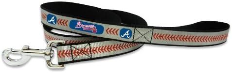 MLB Atlanta Industry No. 1 Braves Baseball Leash Large Pet free shipping Reflective