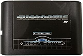 OSTENT 5 Generation Version MD Card Flash Cartridge Compatible for Sega Mega Drive Genesis Console