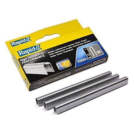 Rapid 20511850 Grapadora manual, Plateado, R36 Heavy-Duty ...