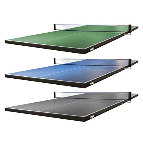 Martin Kilpatrick Ping Pong Table for Billiard Table | Conversion Table Tennis Game Table | Table Tennis Table w/ Warranty | Conversion Top for Pool Table Games | Table Top Games | Ping Pong Table Top, Green