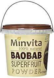 100 Percent natural and organic baobab super fruit powder with exotic taste Fruit powder is suitable for use in a wide range of food and drink Great source of vitamins and minerals Can be used as a cooking ingredient