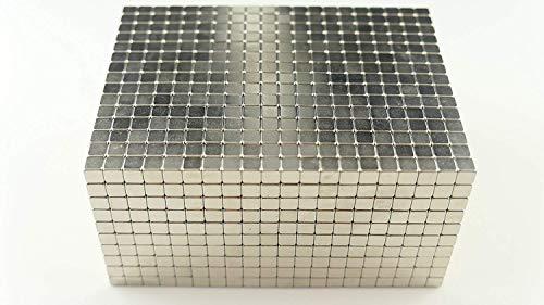 Marwotec Verbindungselemente Neodym-Super-Magnete Würfel 5 x 5 x 5 mm [100 Stücke] Sehr Starke Magnete für, Magnettafel, Whiteboard, Tafel, Pinnwand, Kühlschrank, und vieles mehr