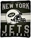 The Northwest Company NFL New York Jets Printed Fleece Throw, 50 x 60-inches
