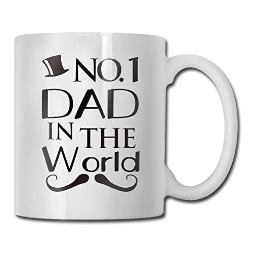N\A Taza de café de papá en el Mundo, Taza Divertida de Padres Lindos, Enfermera Blanca, Taza de café Divertida
