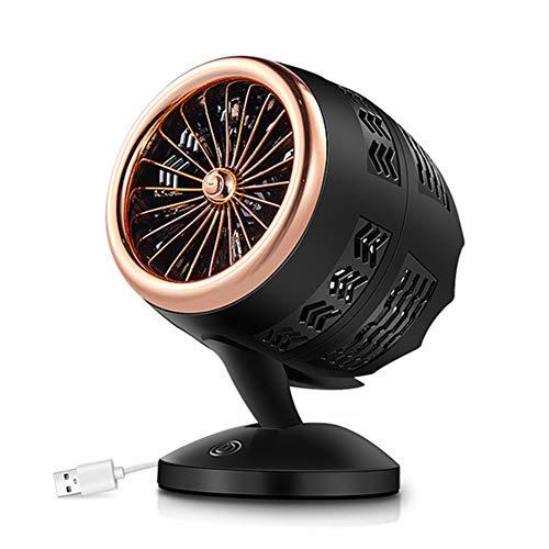 ASDF Portátil Calefactor Eléctrico, USB Mini Calentador De Ventilador, Personal Ventilador Calefactor Eléctrico, Máquina Calentamiento Invierno para Hogar Oficina,1