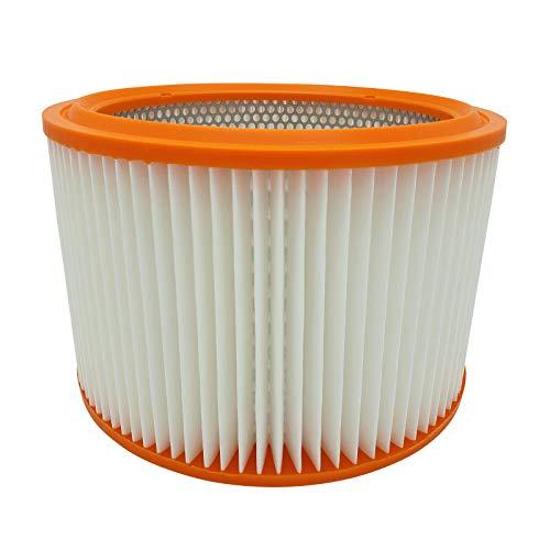 Reinica PES Luftfilter Staubklasse M für Hilti VCU 40 Filter Lamellenfilter Staubfilter Rundfilter Absolutfilter Filterpatrone