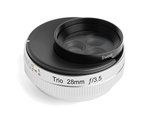 Lensbaby 単焦点レンズ Trio 28 28mm F3.5 ソニーαEマウント Sweet/Velvet/twist切替式 マニュアルフォーカ...