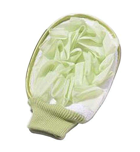 [Vert] Doux Bain Mitt Douche Exfoliant Body Glove Glove Accessoires de bain #01