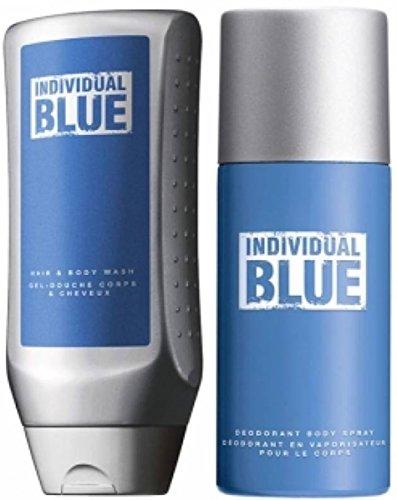 Avon Set Individual Blue Körperspray und Duschgel