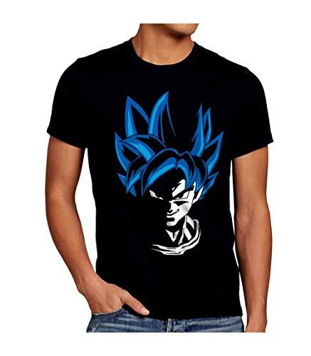 JUL Camiseta Dragon Ball z, Goku… (Negro, L)