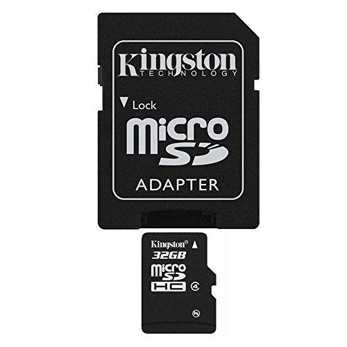 Original 32 GB Micro-SDHC, TF-Speicherkarte mit SD-Adapter für HTC One/M8, M9 E8 Desire 310 501 516 526 g, 600, 601, 616 620 g 816 g 700 820Q 820S 826 320 500 510 610 612 626 dual sim mini Max Remix 2
