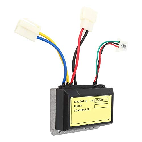 Alomejor Controlador de Cepillo de 12V 250W Controlador de Cepillo de 3...