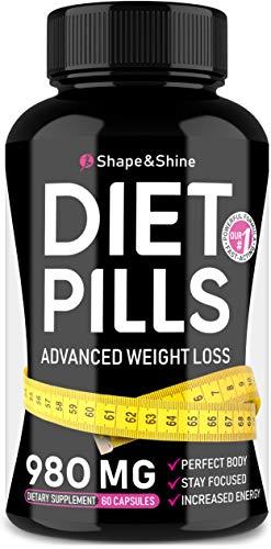 Weight Loss Pills - Diet Pills That Work Fast for Women & Men - Made in USA...