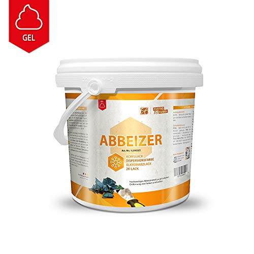 Furth Chemie Profi-Abbeizer-Gel, kraftvoller Lackentferner, 5 Kg