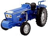 GXT Modelo Coche de aleación Modelo de Coche Modelo de simulación de ingeniería 01:18 Relación de Modelo de Tractor Niño Boy Toy Rompecabezas (Color : Blue)