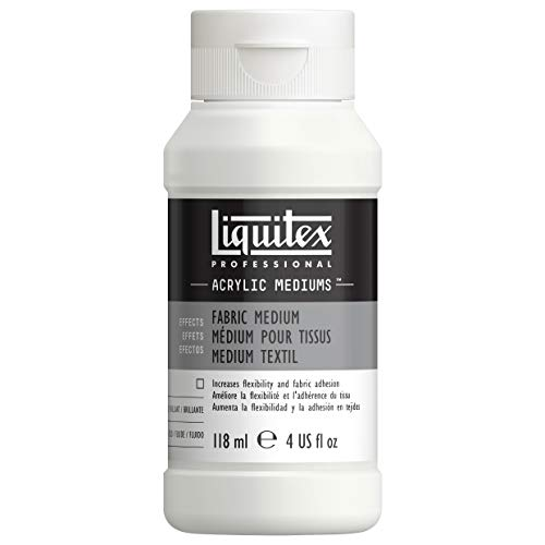Liquitex Professional Fabric Effects Medium, 4-oz