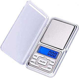 WIlliamKlein Pocket Digital Kitchen Scales for Food, Jewellery Gold Herbs - 0.01g to 200g - Auto Calibration - Tare Function