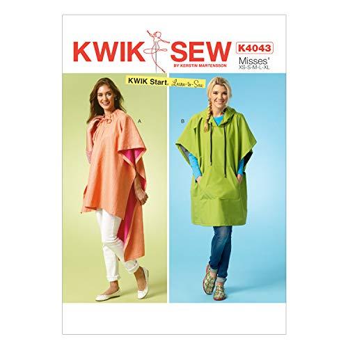 tallas S, M, L, XL y XXL, instrucciones en ingl/és Kwik Sew Patterns K4045 OS Patrones de costura para pantalones cortos y largos para hombre