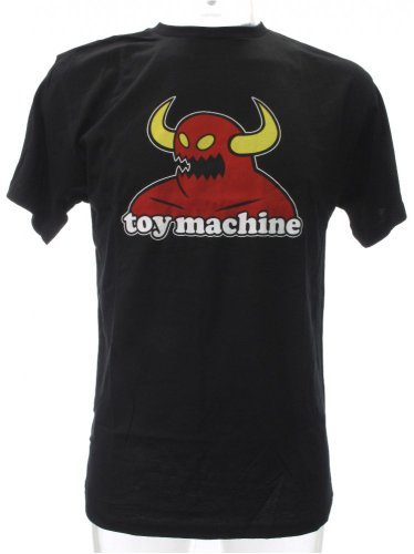 Toy Machine Monster Tee Black Medium