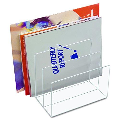 Kantek Acrylic File Sorter, 8-Inch Wide x 6.5-Inch Deep x 7.6-Inch High, Clear (AD45)