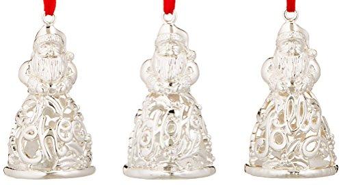 Lenox Santa Ornaments (Set of 3)
