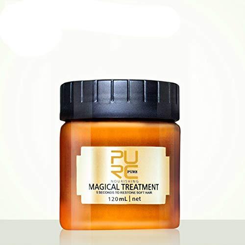 Haarkuren, GLAMADOR Conditioner, Anti-Haarverlust Conditioner, Haar masken, Effektiv gegen Haarausfall, Stärkend, Regenerierend, Wachstumsfördernd, Haarwässer für Reparatur der Haare 120 ML