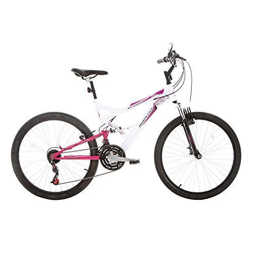 Bicicleta Aro 26 Vivid Houston Vivid Branco/rosa Pink