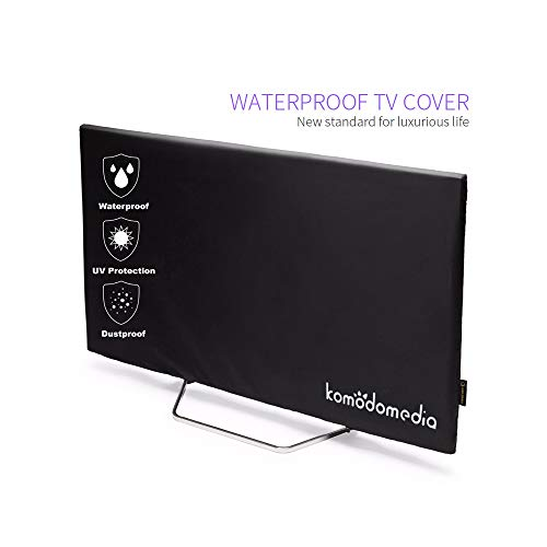 "Komodomedia Outdoor TV 40""-43"" - Dust and Waterproof TV Enclosure with Bottom for LEDs, LCDs and Plasmas - Offers 360-Degree Coverage and UV Protection - Mount and Stand Compatibility"