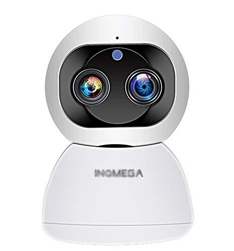 KAIXIN AI Intelligent Binocular Zoom Cámara HD Night Vision Wireless WiFi Head Shaker admite el Acoplamiento NVR