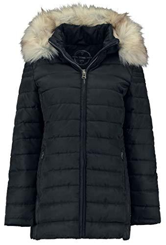 Hailys Anna Frauen Winterjacke schwarz S 100% Polyester Basics, Casual Wear, Streetwear