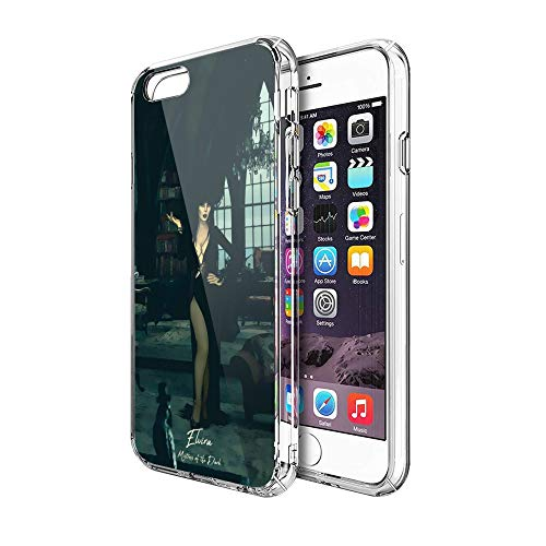 Case Phone Anti-Scratch Cover Motion Picture Elvira Mistress of The Dark Movies (5.5-inch Diagonal Compatible with iPhone 7 Plus, iPhone 8 Plus)