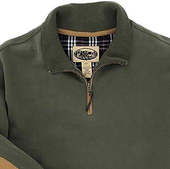 Backpacker Mens Long Sleeve Fleece Quarter Zip