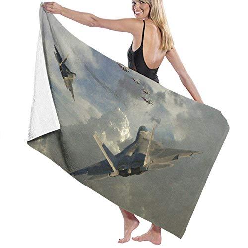 WKLNM Jet Fighter badhanddoek Beach Spa douche badpak zacht licht comfortabele droogt snel