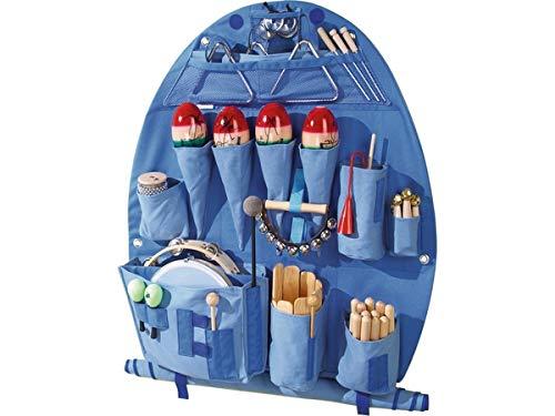 HABA 39604 Musik-Tasche mit Instrumenten-Set, Wahrnehmung & Kognition, für Kinder