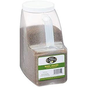 Spice Classics Basil Leaves, 1.75 lbs