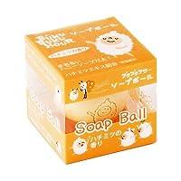 ブクブクアワー ソープボール 110g(ハチミツの香り) フレグランスソープボール