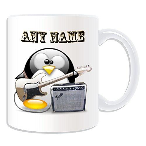 De regalo con mensaje personalizado - Juego de guitarra eléctrica #3 taza...