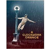 時計じかけのオレンジクラシック映画壁アートキャンバス絵画ポスターリビングルーム家の装飾壁の装飾-50x70cmフレームなし
