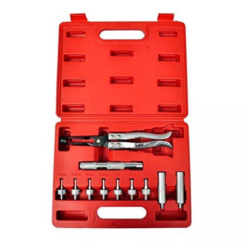 Luckyfu Kit Tige Valve de dissolvant sigillo. Accessoires pour véhicules boîte à Outils du véhicule réparation du véhicule