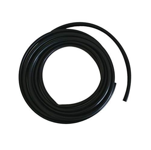 2m Isolierschlauch 7,47x0,57mm schwarz Weich-PVC